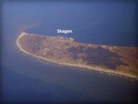 Skagen Peninsula Aerial. Image: Wikipedia.