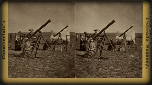 Victorian Era Solar Eclipses, Expeditions. Image: Library of Congress.