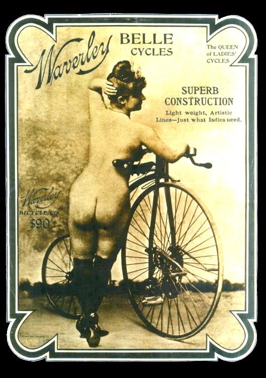 Waverley Belle Cycles Erotica. Image: OldBike.eu.