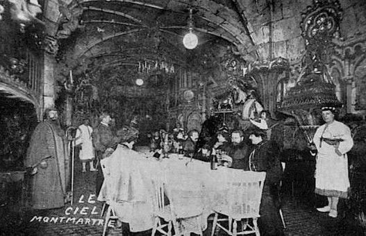Cabaret Of Heaven, Montmartre. Image: Public Domain.