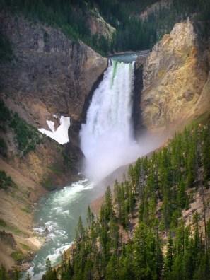 Yellowstone Falls. Image: Scott Catron.