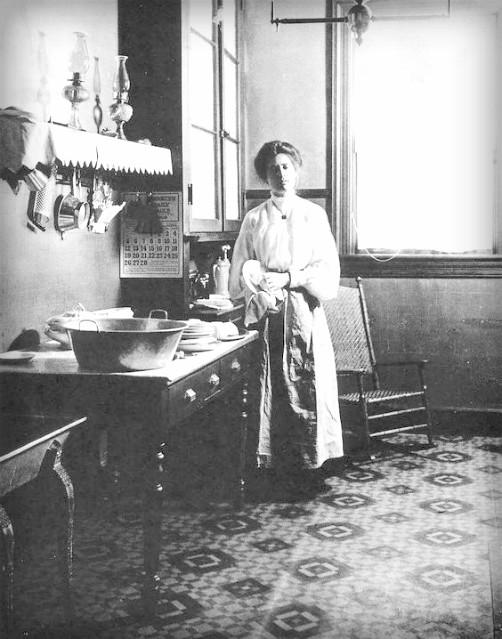 She; Ended Dish Washing Drudgery. Image: Public Domain.