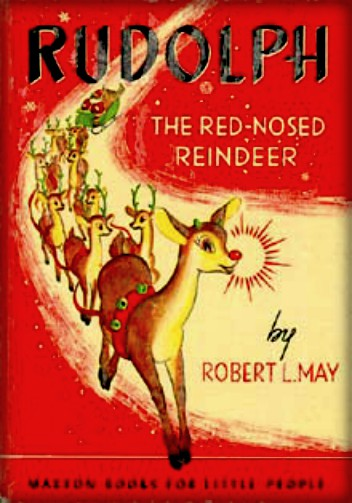 Rudolph, The Red-Nosed Reindeer. Image: Marion Books in Wikipedia.