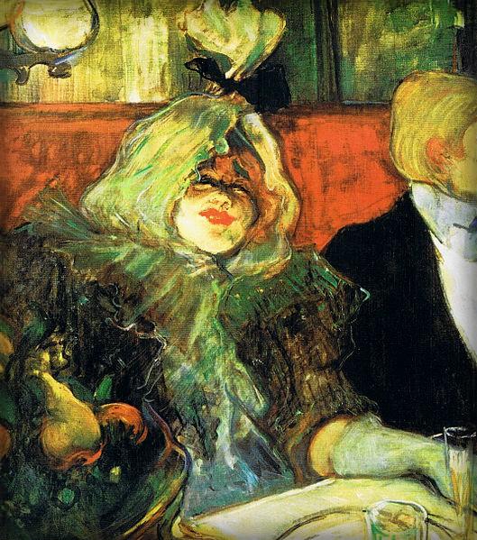 Au Rat Mort by Henri Toulouse-Lautrec, 1899-1900. Image: Wikipedia.