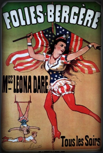 Poster, Folies-Bergere. Image: gallica.bnf.fr.