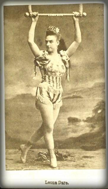 Leona Dare, Studio Shoot. Image: Library of Congress.