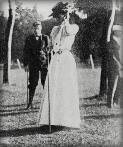 Early Female Olympians: Margaret Abbott, Gold Medal Golf, 1900. Image: Wikipedia.