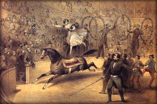Palmyre Annato, 1840. Image: circopedia-org.