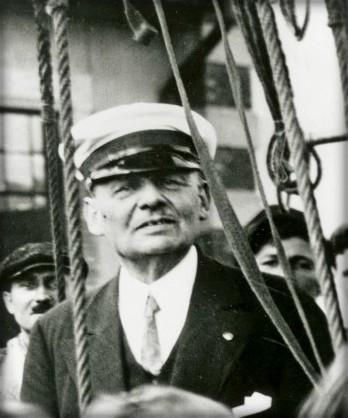 Eduard Spelterini, 1912. Image: Wikimedia.