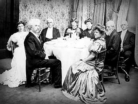 Delmonico's Dinner For Mark Twain. Image: Wikipedia.