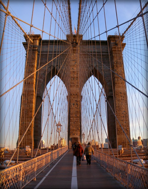 Brooklyn Bridge. Image: Jim Henderson, Wikipedia.