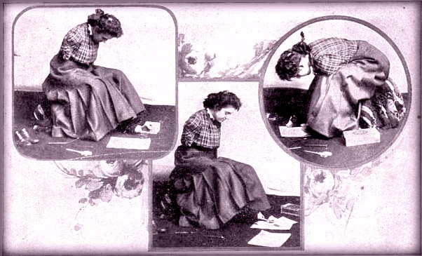 Armless Wonder Kittie Smith Pamphlet. Image: Library of Congress.