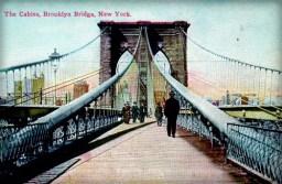 First Female Field Engineer, Emily Warren Roebling: Brooklyn Bridge, 1899. Image: Wikipedia.