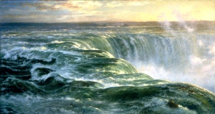 Niagara, 1866 by Louis Rémy Mignot, Brooklyn Museum. Image: Wikipedia.