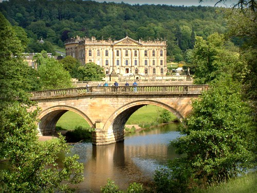 Chatsworth Bridge. Image: Rob Bendall; Wikipedia.