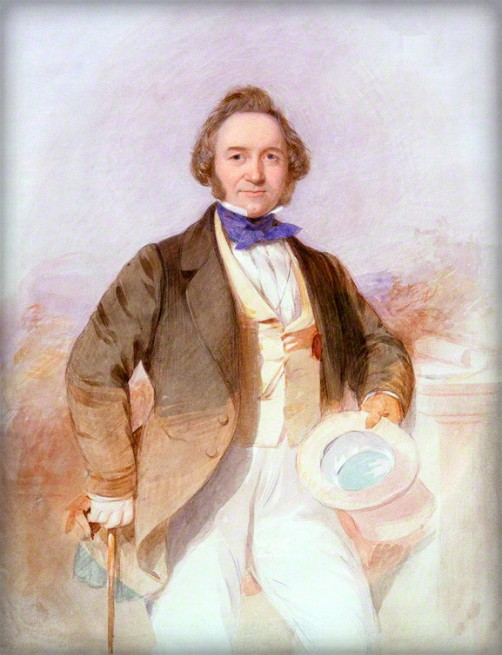 Joseph Paxton by Octavius Oakley, c1850. Image: Wikipedia.