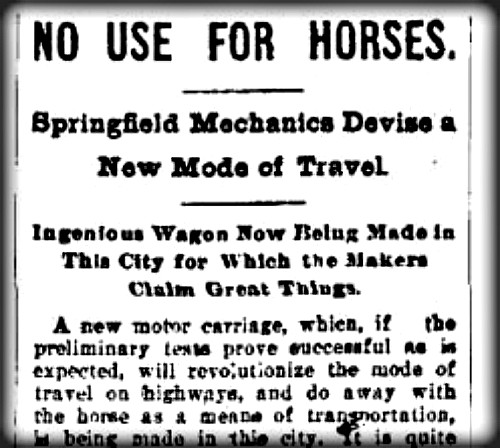 No Use For Horses Headline.