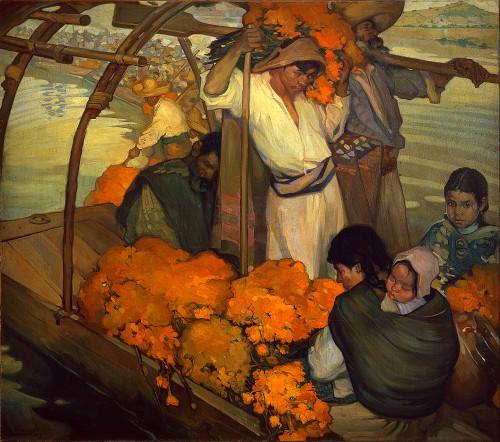 Saturnino Herrán Guinchar, The Offering-1913. Image: Wikipedia.