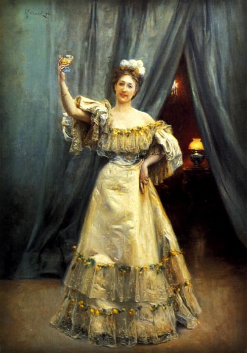 Julius LeBlanc Stewart - 1896 A Toast