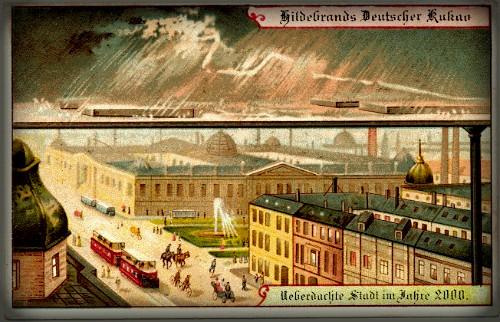 Futuristic Victorian Postcards : Individual Climate Control. Image: Wikipedia.