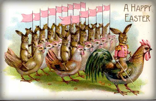 Easter Bunny Army. Image: Wikimedia.