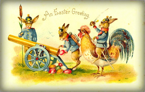 Easter Egg Canon. Image: Wikimedia.