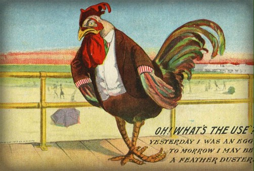 Easter Rooster. Image: Public Domain.