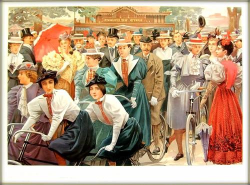 Au Bois De Boulogne: Vanity Fair, 1897. Image: Wikipedia.
