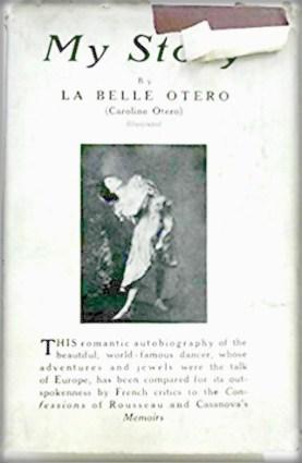 My Story by French Courtesan Caroline Otero. Image: Amazon.com.