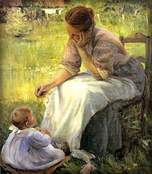 Elizabeth Nourse Mediatation, 1902. Image: Wikipedia.