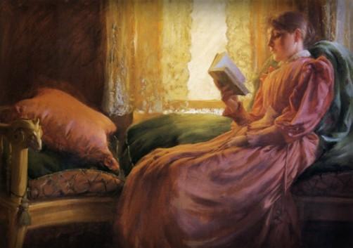 Girl Reading, 1892. Image: Wikipedia.