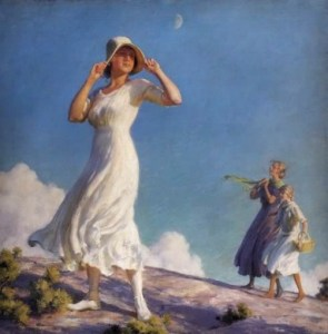 Ladies On a Hill, 1917. Image: Wikipedia.