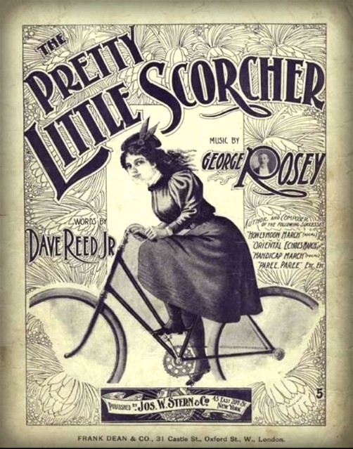 Pretty Little Scorcher Music, 1898. Image: proteanpaper.com.