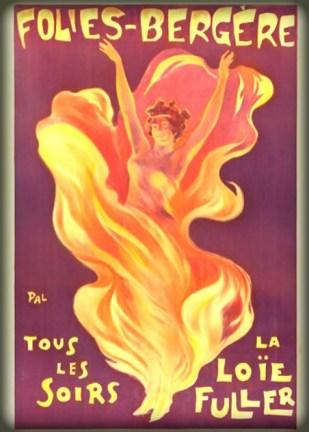 Lole Fuller, Folies Bergere. Image: Wikipedia.