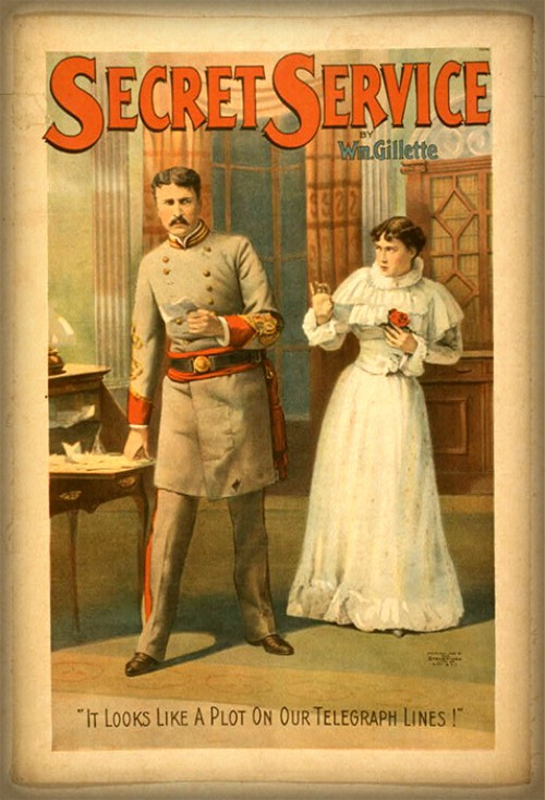 Secret Service Magazine. Image: Library of Congress.