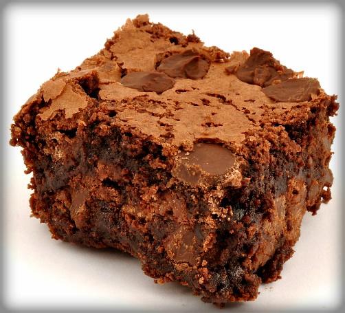 Chocolate Brownie. Image: Wikipedia.
