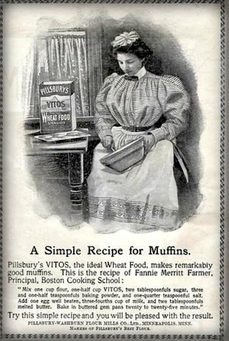 Cooking School Ad. Image: LOC.