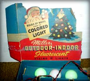 Millers Indoor-Outdoor Fluorescent Holiday Light Kit. Image: Wikipedia.