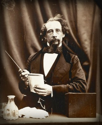 Charles Dickens Portrait by George Herbert. Image: Wikipedia.