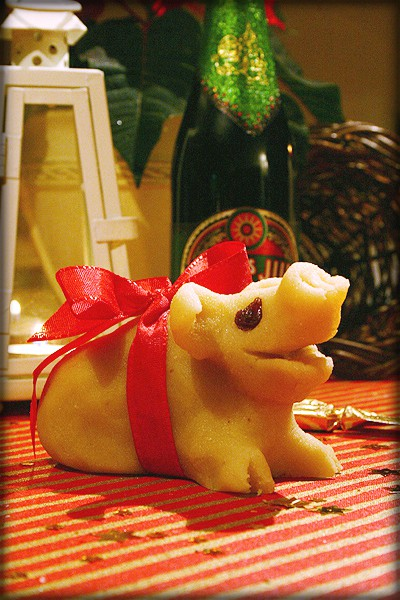 Marzipan Pig. Image: Wikipedia.