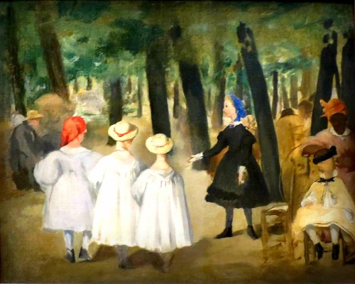 painting of Children in the Tuileries Garden by Édouard Manet 1862. Image: Wikipedia.