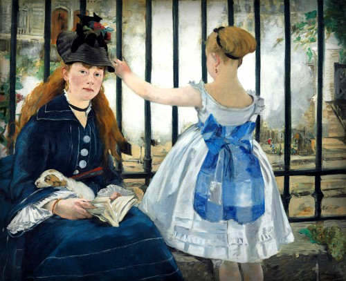The Railway by Edouard Manet, 1873. Image: Wikipedia.