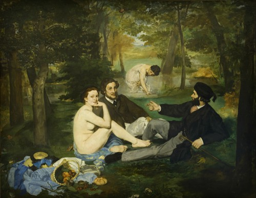Luncheon On The Grass by Edouard Manet 1863. Image: Wikipedia.