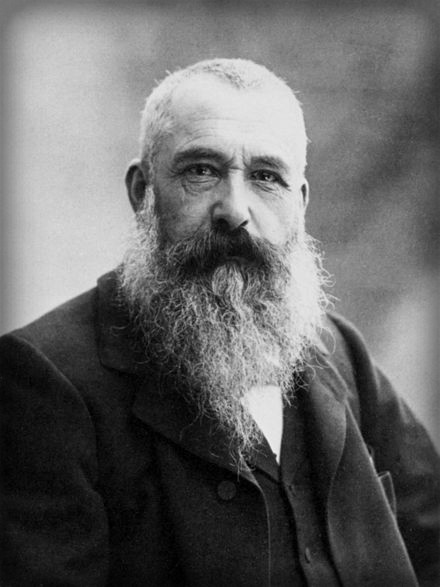 Claude Monet, 1899 by Nadar Image: Wikipdeia.