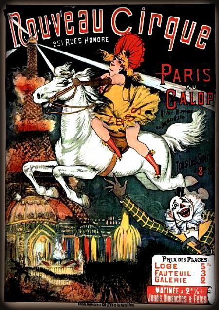 Nouveau Cirque Poster. Image Wikipedia.