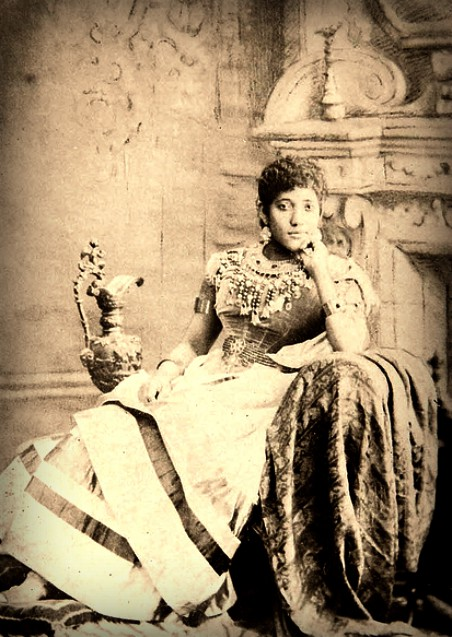 First Black Woman To Sing At White House, 1878. Image: Library of congress.