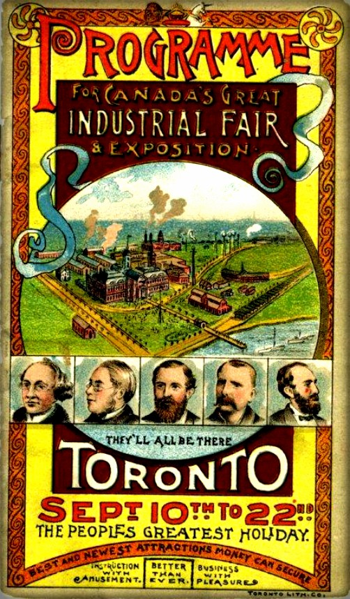 Small Program, 1888. Image: CNE Heritage.com.