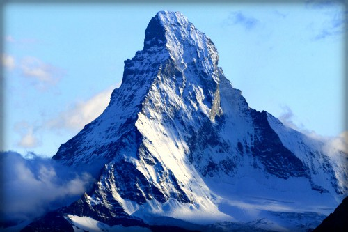 Matterhorn from Domhütte. Image: Wikipedia.