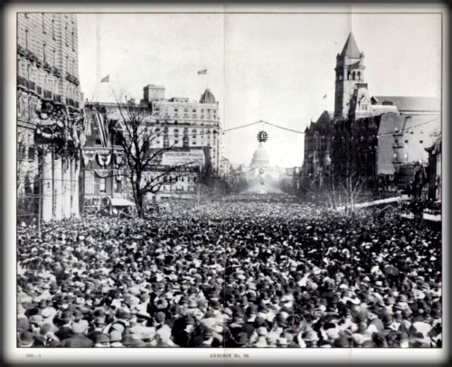 2-suffrage parade, 1913