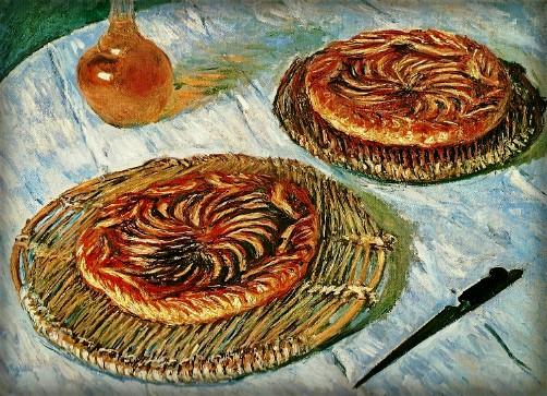 Fruit Tarts by Claude Monet 1882. Image: Image: the-athenaeum.org.